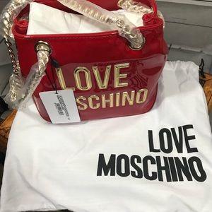 Love Moschino Red Bag NWT C-4